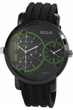Excellanc Męski zegarek na rękę XL analogowy kwarcowy kauczuk 225771100013
