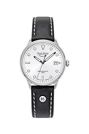 Soehnle Bruno Söhnle męski analogowy zegarek kwarcowy z prawdziwej skóry pasek 17-13183-291