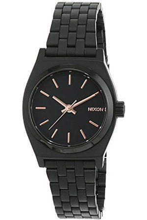 Nixon Damski zegarek na rękę Small Time talerz analogowy kwarcowy stal szlachetna powlekana A399957-00