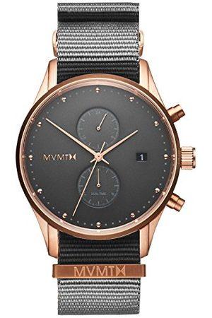 MVMT Męski analogowy zegarek kwarcowy z nylonowym paskiem D-MV01-RGGR2