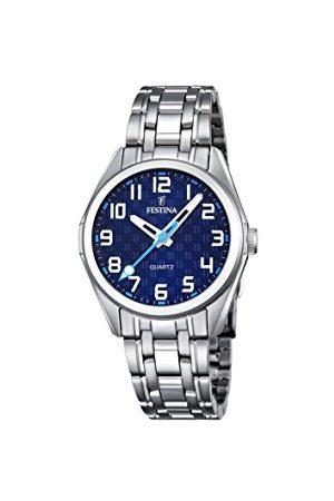 Festina Unisex analogowy zegarek kwarcowy z bransoletką ze stali szlachetnej F16903/2
