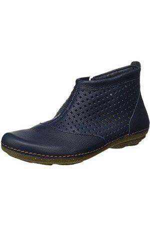 El Naturalista N389 Soft Grain Torcal buty damskie z krótką cholewką, - Blau Ocean - 41 EU