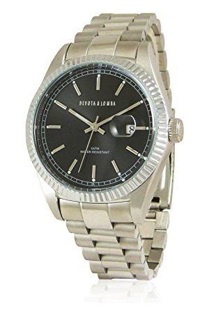 Devota&Lomba Zegarek na rękę analogowy DL013M-01BLACK