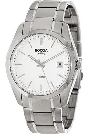 Boccia 3608-03 cyfrowy zegarek kwarcowy z bransoletką tytanową