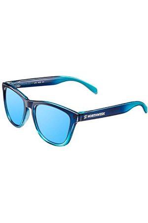 Northweek Unisex Gradiant okulary przeciwsłoneczne dla dorosłych, wielokolorowe (Azul), 52