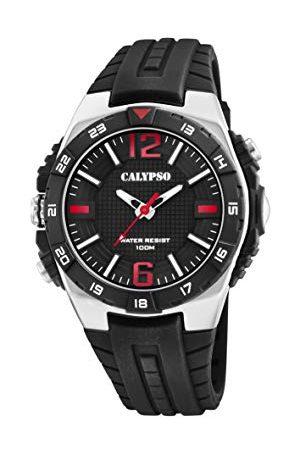 Calypso Calypso zegarki męskie analogowy klasyczny zegarek kwarcowy z plastikowym paskiem K5778/6