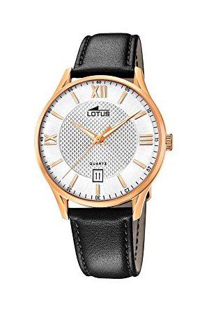 Lotus Męski analogowy kwarcowy zegarek ze skórzanym paskiem 18404/A