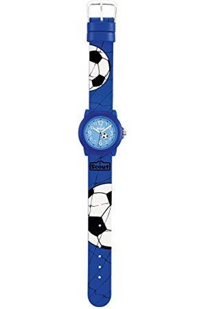 Scout Chłopcy analogowy zegarek kwarcowy z paskiem PU 280305030