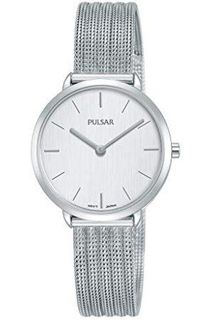 Pulsar Kwarcowy zegarek damski stal szlachetna z metalowym paskiem PM2279X1