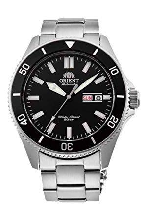 Orient Męski analogowy automatyczny zegarek z bransoletką ze stali szlachetnej RA-AA0008B19B