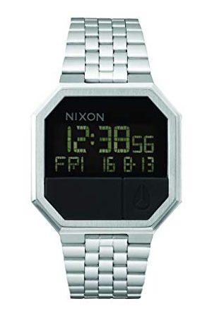 Nixon Cyfrowy zegarek kwarcowy unisex z paskiem ze stali nierdzewnej A158-000-00