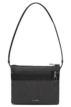 Pacsafe Męska torba Metrosafe X antykradzieżowa na ramię torba kurierska, Szarość węglowa (Szary) - 30625136