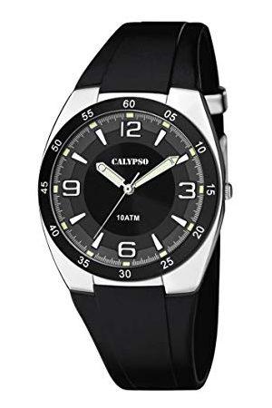 Calypso Męski analogowy zegarek kwarcowy z plastikową bransoletką K5753/3