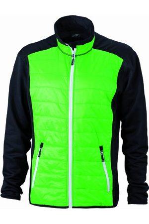 James & Nicholson Damska kurtka z polaru stretch Ladies' Hybrid Jacket