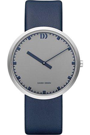Danish Design Męski analogowy zegarek kwarcowy ze skórzaną bransoletką IQ22Q1212