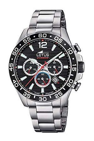 Lotus Męski chronograf kwarcowy zegarek z bransoletką ze stali szlachetnej 18696/4