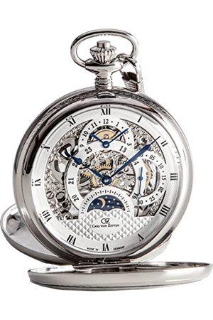 CARL VON ZEYTEN Skeleton Mechanik zegarek kieszonkowy CVZ0038SL