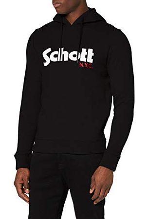 Schott NYC Męska bluza z kapturem