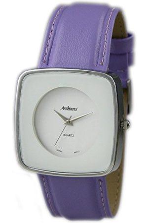 Arabians Męski analogowy zegarek kwarcowy ze skórzanym paskiem DBP2045L