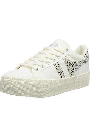 Gola Kobieta Platformy - Damskie buty sportowe Orchid Platform Safari, Off White Cheetah - 36 EU