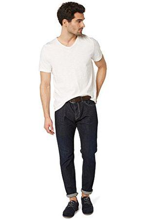 TOM TAILOR Męskie spodnie Regular Waist, Regular Fit, Slim Leg Jeans with belt/407