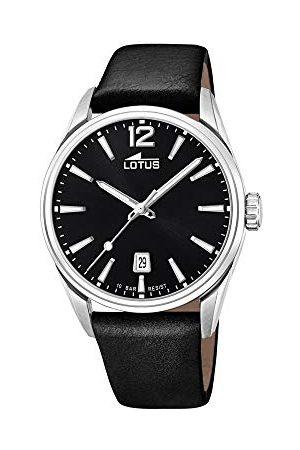 Lotus Męski analogowy zegarek kwarcowy ze skórzanym paskiem 18693/3
