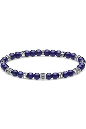 Thomas Sabo Unisex bransoletka talizman niebieska 925 srebro szterlingowe A1923-531-1-L17