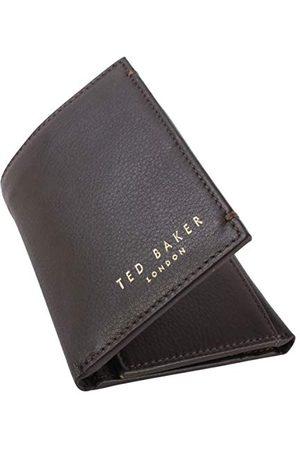 Ted Baker Ted Baker męski Core mini karta lthr akcesoria podróżne - portfel potrójnie składany, XCHOCOLATE, jeden rozmiar