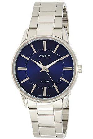 Casio MTP-1303PD, męski Bransoletka Blue/Silver