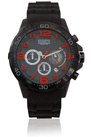Munich Unisex dla dorosłych analogowy zegarek kwarcowy z gumową bransoletką MU+137.1A