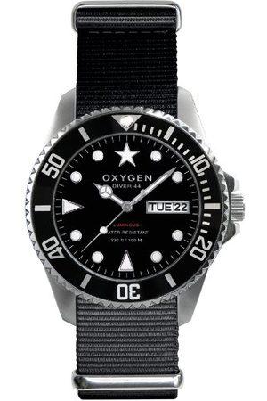 Oxygen Unisex Zegarek na rękę Moby Dick 44 analogowy kwarcowy nylon EX-D-MOB-44-NN-BL