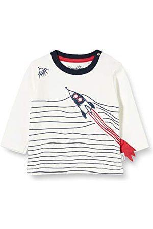 Sanetta Dziecko chłopcy Ivory Z tą sprytną koszulką z długim rękawem Kidswear staną się nawet małe duże rakiety