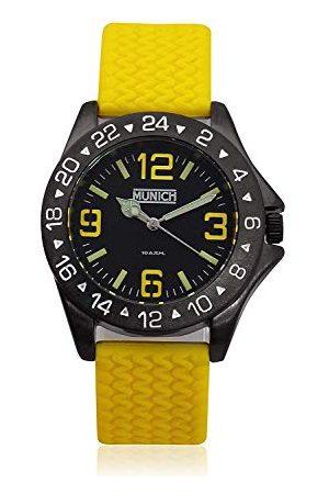 Munich Unisex dla dorosłych, analogowy zegarek kwarcowy z gumową bransoletką MU+120,9 A