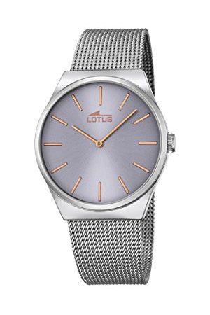 Lotus Unisex analogowy zegarek kwarcowy z bransoletką ze stali szlachetnej 18285/2