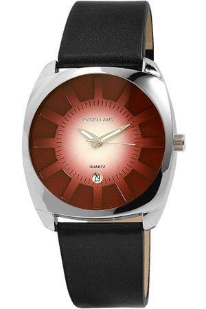 Excellanc 29532550006 zegarek męski z paskiem ze skóry poliuretanowej