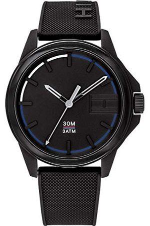 Tommy Hilfiger Męski analogowy zegarek kwarcowy z paskiem silikonowym 1791624