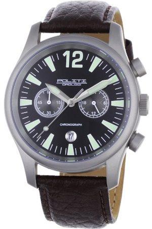 POLITI OROLOGI Męski zegarek na rękę Chronograf OR3901