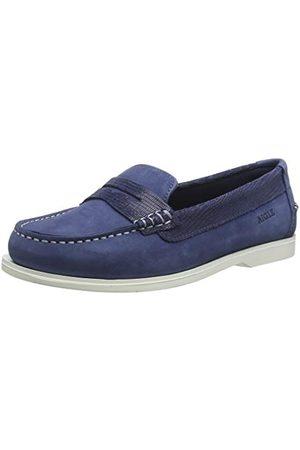 Aigle Havbay W buty do łodzi, niebieskie (Abysse 001), 35 EU