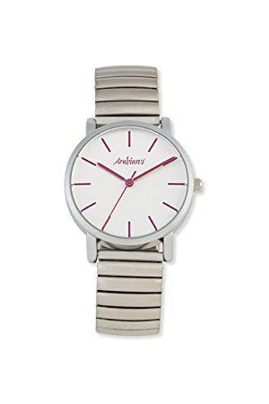 Arabians Męski analogowy zegarek kwarcowy z bransoletką ze stali szlachetnej DBA2272F