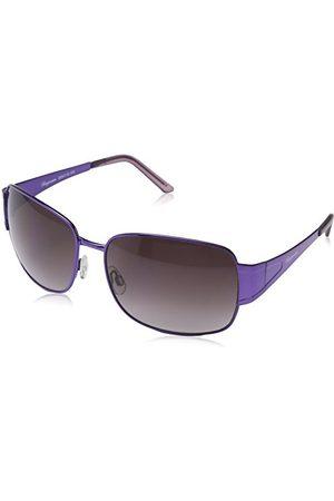 Burgmeister SBM118-154 prostokątne okulary przeciwsłoneczne, Purple