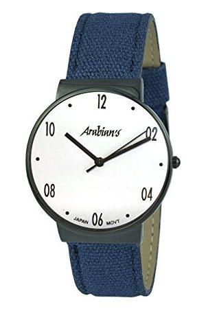 ARABIANS Męski analogowy zegarek kwarcowy z bransoletką z materiału HNA2236EBA