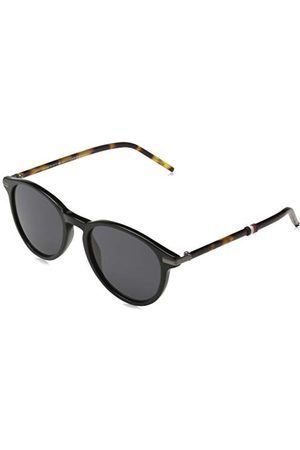 Tommy Hilfiger Męskie okulary przeciwsłoneczne TH 1673/S, czarne Havaian, 50