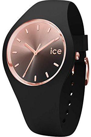 Ice-Watch ICE sunset Black - zegarek damski z silikonowym paskiem - 015748 (Medium)