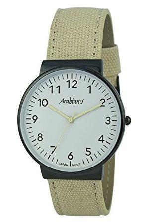 ARABIANS Męski analogowy zegarek kwarcowy z bransoletką z materiału HNA2236B
