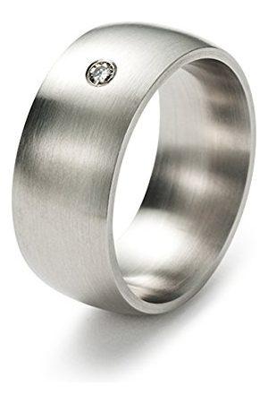Monomania Pierścionek ze stali nierdzewnej, antyalergiczny, unisex, 9 mm, 20294 e stal szlachetna, 57 (18.1), colore: 0, cod. Ring 20294-57