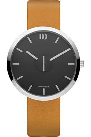 Danish Design Unisex dla dorosłych analogowy kwarcowy zegarek ze skórzanym paskiem IQ29Q1198