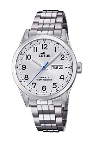 Lotus Męski analogowy zegarek kwarcowy z bransoletką ze stali szlachetnej 18670/1