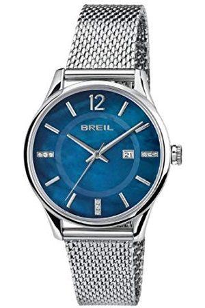 Breil Damski analogowy zegarek kwarcowy Smart Watch z bransoletką ze stali szlachetnej TW1722