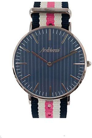 ARABIANS Męski analogowy zegarek kwarcowy z bransoletką z materiału HBA228JR