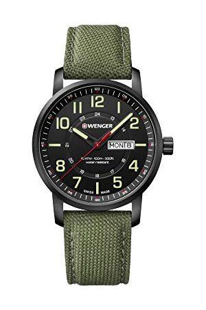 Wenger Unisex zegarek dla dorosłych analogowy kwarcowy materiał 01.1541.104